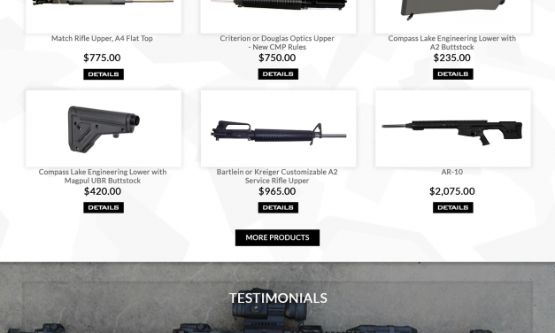 Compass Lake Weapons Website